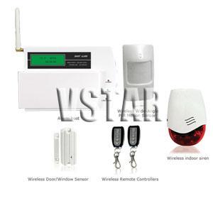 gsm lcd wireless burglarproof alarm system