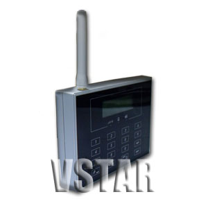 wireless home security systems sms alert test message insert sim card