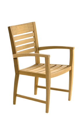 jepara stacking dining chair teka teak wooden garden outdoor furniture