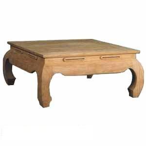 opium square table teak teka wooden garden outdoor furniture