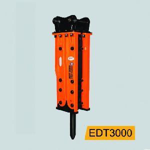 excavator attachment hydraulic breaker hammer rock distributors