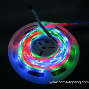 digital intelligent programmable rgb led strip lights 5meters reel dc12 24v