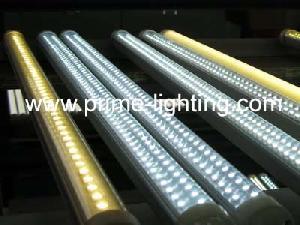 t8 smd led tube lights lumen aluminum base pc reflector internal isolated driver