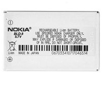 nokia battery bld 3 2100 3300 6610 6610i