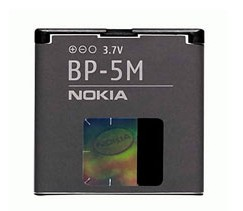 nokia battery bp 5m 5610 5700 6110n 6500s 7390 8600 luna