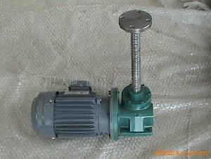 electric worm gear screw jacks electrical jack screws motor drive