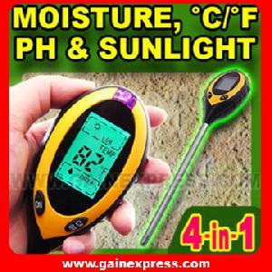 4 1 soil survey instrument ph fahrenheit celsius moisture sunlight