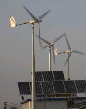 wind solar hybria system