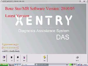 benz star c3 c4software version 2010 05