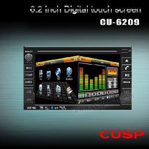 6 2 din car dvd player gps
