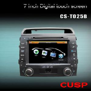 car dvd player gps toyota land cruiser 2006 2010