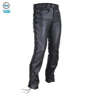 leather pants motorbike mens pant