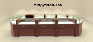 jewelry wooden showcases hkbesty
