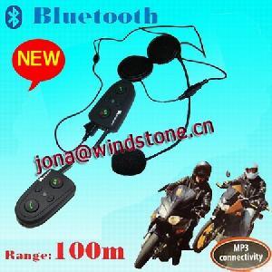 bluetooth interphone motorcycles bikers 100m hm 528