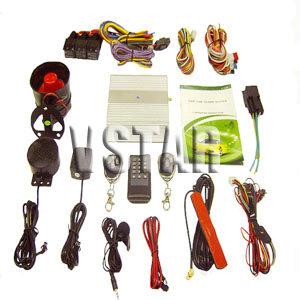 gsm car alarm system engine starter