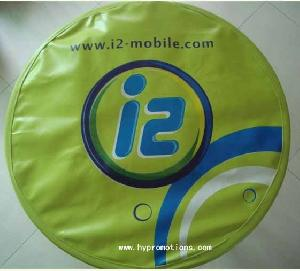 printing logo pvc spare tire covers