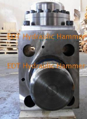 hydraulic hammer cylinder piston front head