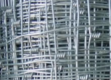 knotted fencing mesh