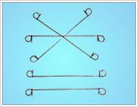 loop tie iron wire