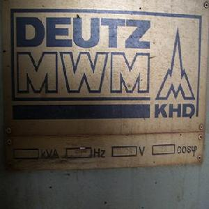 deutz heavy oil power plant