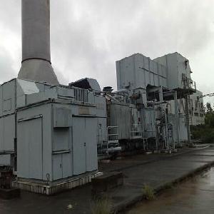 dual fuel gas turbine power plant alsthom 38mw