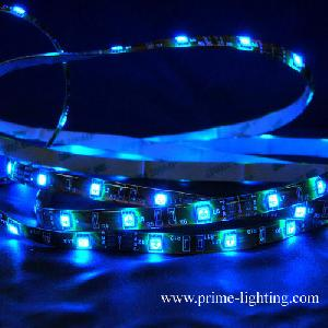 flexible smd5050 rgb led strip lights 150pcs reel 5meters 36w dc12v factory