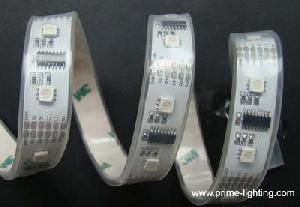 programmable digital intelligent rgb led strip lights 160pcs 5 meters reel 83 lighting