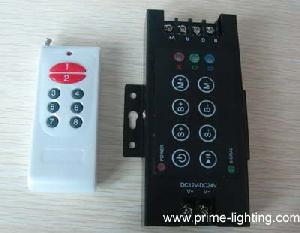 rf 8 key rgb led controller