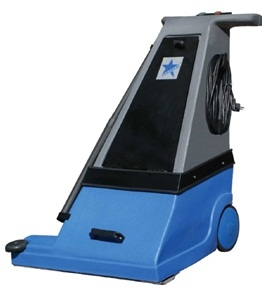 commercial rotary brush vacuum sweeper