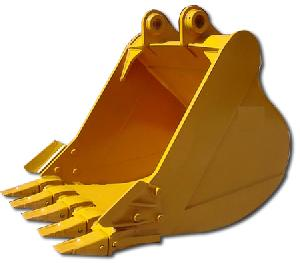 excavator rock cleaning clamshell bucket