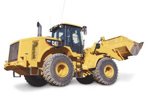 cat wheel loader 966h