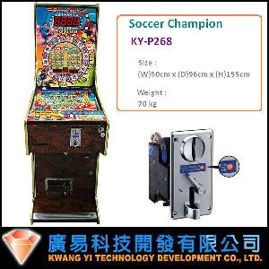 pinball machine soccer champion ky p268