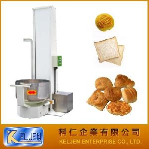 lifting tilting separate mixer food processing machinery