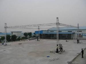 aluminium alloy stage truss project example