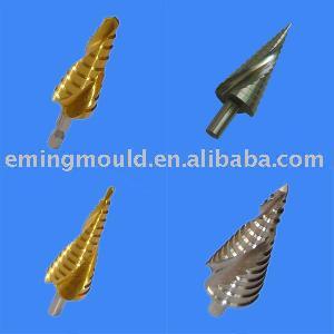 hss step drills ground bright finish tin coating tialn