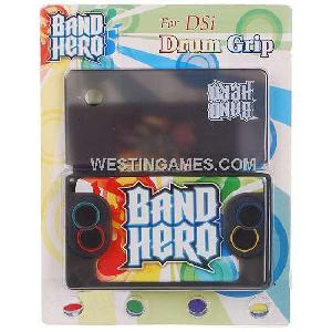 band hero silicone drum grip cover dsi grey