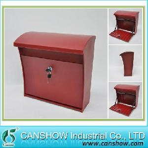 wall mount mbw 2015red mailbox plastic ejection letterbox injection produc