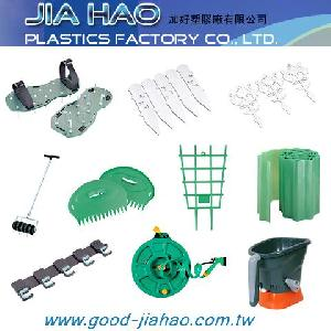 garden tools lawn aerator shoe picket fence leaf scoops