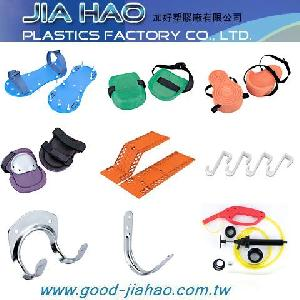 hardware shoes knee pads massager door hook