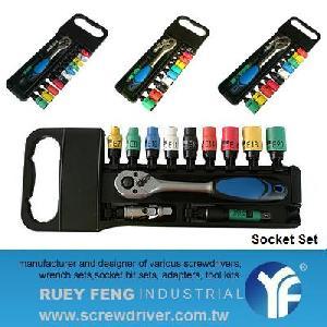 14pcs 1 4 dr socket wrench