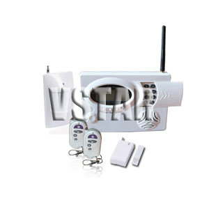 gsm pstn intruder alarm system