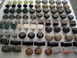 granite pulls knobs