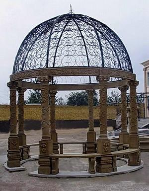 gazebo marble travertine sandstone