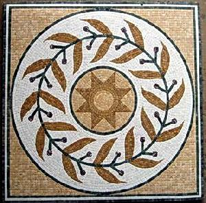 mosaic medallion