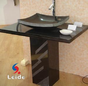 countertop pedestal sink ld f022