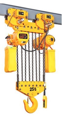 electric chain hoist 25 ton load