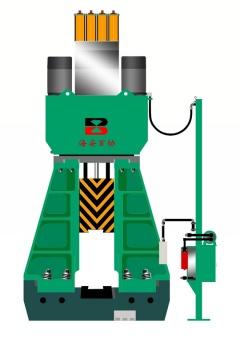 ctk 25 50kj plc hydraulic die forging hammer