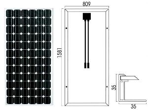 monocrystalline panels modules