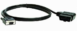 obd ii 16p m rs232 cable assembly