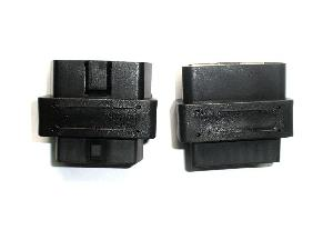obd ii adapter 2 cable connector